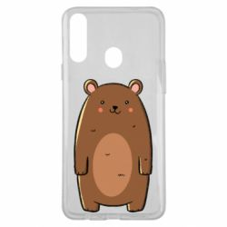 Чехол для Samsung A20s Bear with a smile