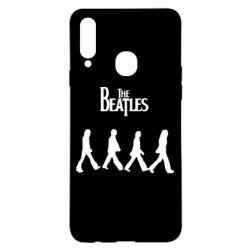 Чохол для Samsung A20s Beatles Group