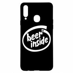 Чехол для Samsung A20s Beer Inside