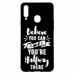 Чохол для Samsung A20s Believe you can and you're halfway there