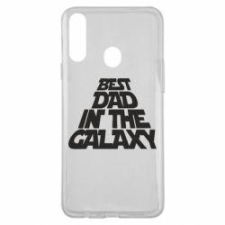 Чехол для Samsung A20s Best dad in the galaxy