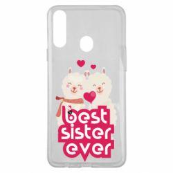 Чохол для Samsung A20s Best sister ever