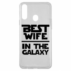 Чохол для Samsung A20s Best wife in the Galaxy