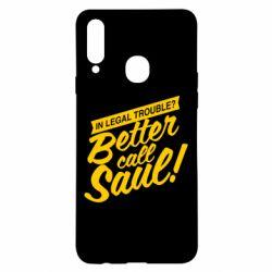 Чохол для Samsung A20s Better call Saul!