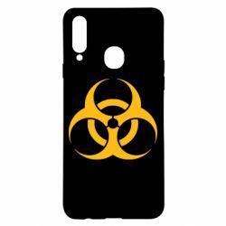 Чехол для Samsung A20s biohazard