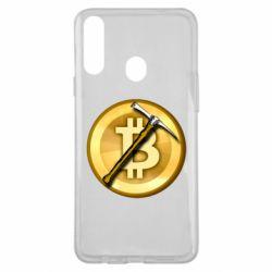 Чохол для Samsung A20s Bitcoin Hammer