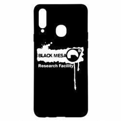 Чехол для Samsung A20s Black Mesa