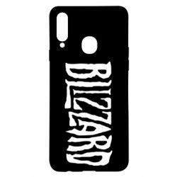 Чохол для Samsung A20s Blizzard Logo