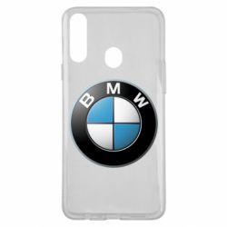 Чехол для Samsung A20s BMW Logo 3D