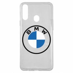 Чохол для Samsung A20s BMW logotype 2020
