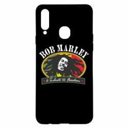 Чехол для Samsung A20s Bob Marley A Tribute To Freedom
