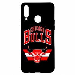 Чохол для Samsung A20s Великий логотип Chicago Bulls