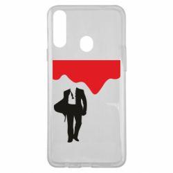 Чохол для Samsung A20s Bond 007 minimalism