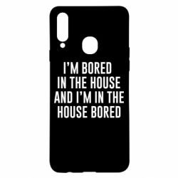 Чохол для Samsung A20s Bored in the house
