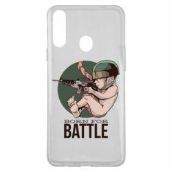Чехол для Samsung A20s Born For Battle