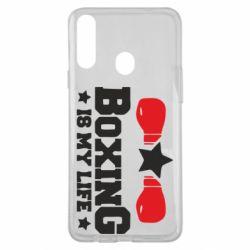 Чохол для Samsung A20s Boxing is my life