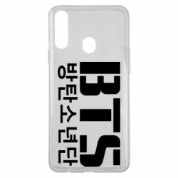 Чехол для Samsung A20s Bts logo