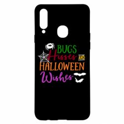 Чохол для Samsung A20s Bugs Hisses and Halloween Wishes