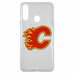 Чехол для Samsung A20s Calgary Flames