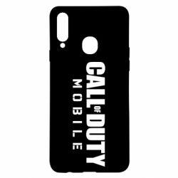 Чехол для Samsung A20s Call of Duty Mobile