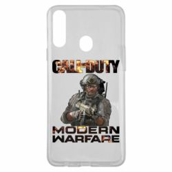 Чехол для Samsung A20s Call of Duty: Modern Warfare