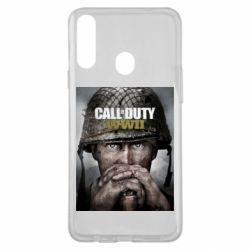 Чохол для Samsung A20s Call of Duty WW2 poster