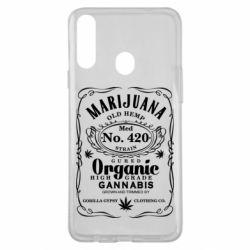 Чохол для Samsung A20s Cannabis label
