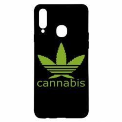 Чохол для Samsung A20s Cannabis