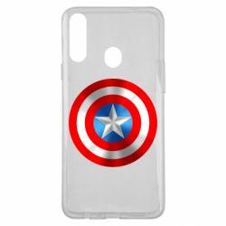 Чехол для Samsung A20s Captain America 3D Shield