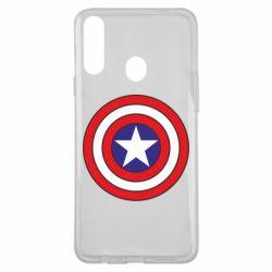 Чехол для Samsung A20s Captain America