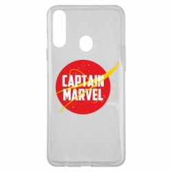 Чохол для Samsung A20s Captain Marvel in NASA style