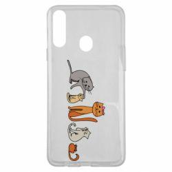 Чехол для Samsung A20s Cat family