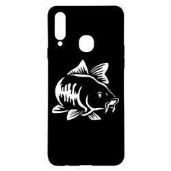 Чохол для Samsung A20s Catfish