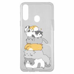 Чохол для Samsung A20s Cats