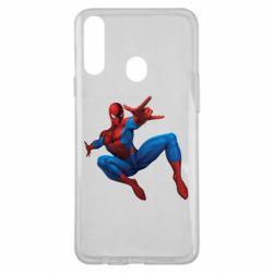 Чохол для Samsung A20s Людина павук