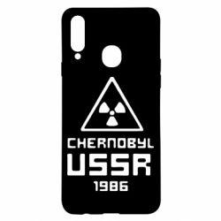 Чехол для Samsung A20s Chernobyl USSR