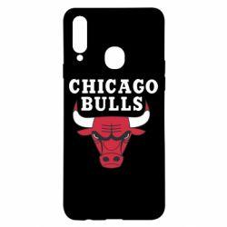 Чехол для Samsung A20s Chicago Bulls Classic