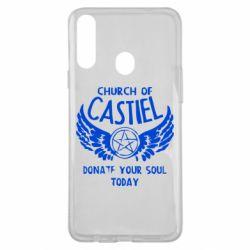 Чохол для Samsung A20s Church of Castel
