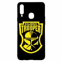 Чехол для Samsung A20s Clone Trooper