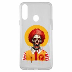 Чохол для Samsung A20s Clown McDonald's skeleton