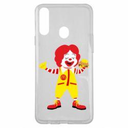Чохол для Samsung A20s Clown McDonald's