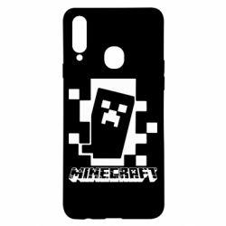 Чохол для Samsung A20s Color Minecraft