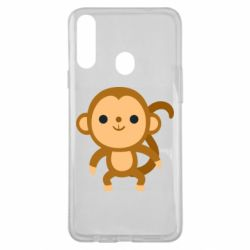 Чохол для Samsung A20s Colored monkey