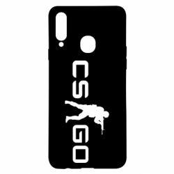 Чехол для Samsung A20s Counter Strike GO