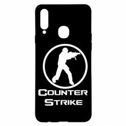 Чехол для Samsung A20s Counter Strike