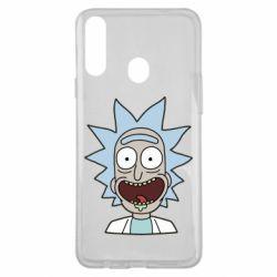 Чехол для Samsung A20s Crazy Rick