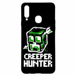 Чехол для Samsung A20s Creeper Hunter