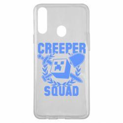 Чохол для Samsung A20s Creeper Squad