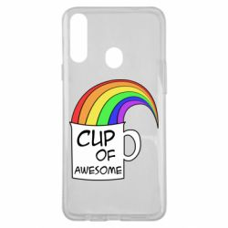Чехол для Samsung A20s Cup of awesome