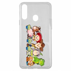 Чохол для Samsung A20s Cute characters toy story